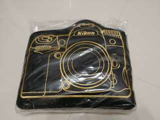 (全新) Nikon Cushion Blanket (坐墊毯子)