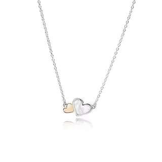 Pandora earrings necklace 925