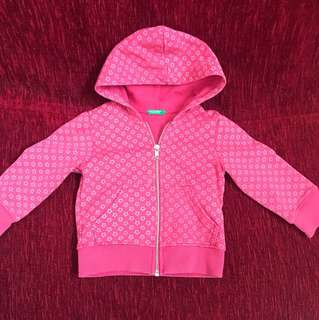Benetton hoodies jacket (1-2Y)