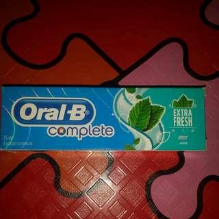 ORAL- B EXTRA FRESH TOOTHPASTE 75ML