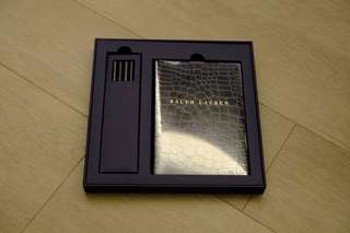 Ralph Lauren Notebook 禮盒