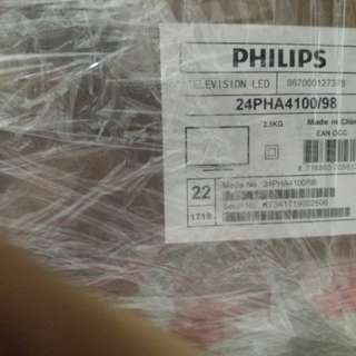 Philips led tv - 24 Inch - Brand new - Unopened box