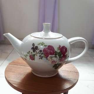 Flower Porcelain Teapot