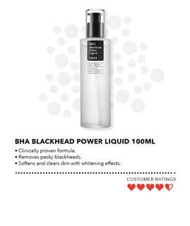 Cosrx BHA Blackhead Power Liquid 100ML (BNIB)