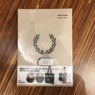 Fred Perry Special Book w Free Gift