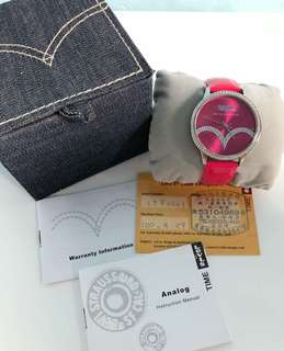 Levi's Hot Pink Watch