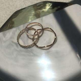 ✨戒指組合✨