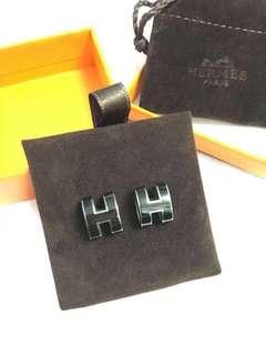 Hermes 耳環,盒/正單全齊,2014年買,只戴過幾次。