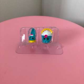 Shopkins heel and ice cream (2 for $3)
