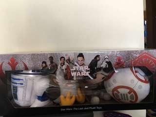 Star Wars: The Last Jedi Plush Toys (The Resistance)