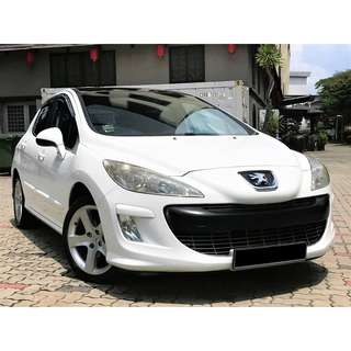 Peugeot 308 1.6 Auto Turbo Glass Roof 5dr