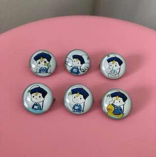 Vampires kid pins (6 for $9)