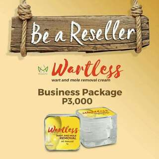 Reseller for Wartless Cream