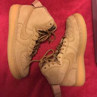 *price drop* Air Force 1 high flax