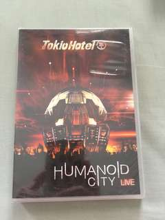 Tokio Hotel - Humanoid City Live DVD - New, sealed & unopened!