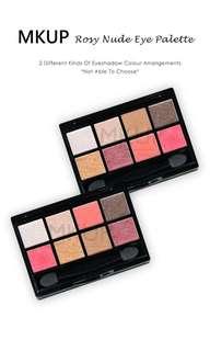 MKUP Rosy Nude Eye Palette