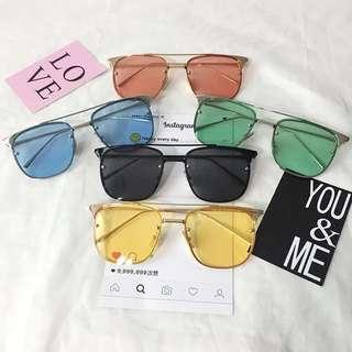 Korean Coloured Sunglasses (PO)