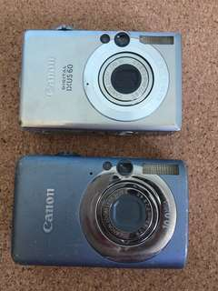 Faulty Canon Ixus Camera