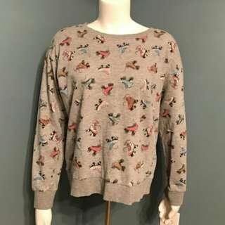 H&M rollerskate sweatshirt