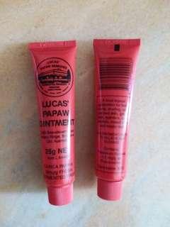 澳洲木瓜papaw ointment