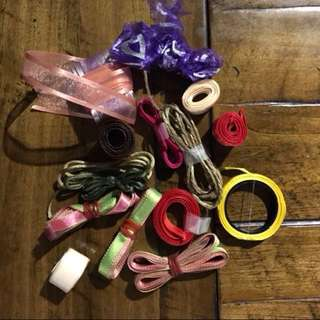 Assorted ribbons