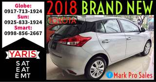 2018 ALL NEW Toyota Yaris S E Manual and Automatic