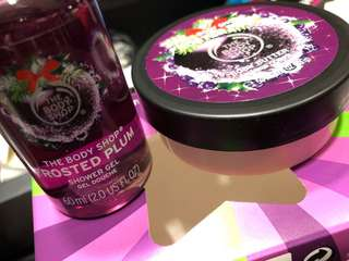 The Body Shop Body Butter & Shower Gel Set