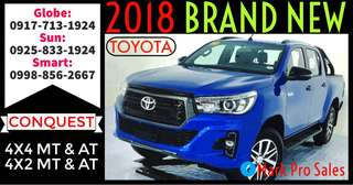 2018 Toyota Hilux Conquest 4x4 4x2 Manual and Automatic
