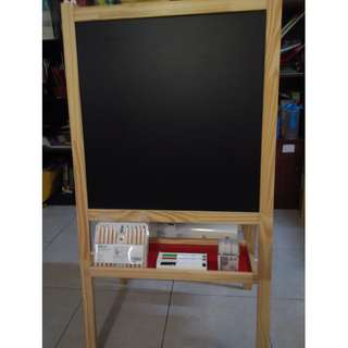 Ikea White & Black Board w accesories