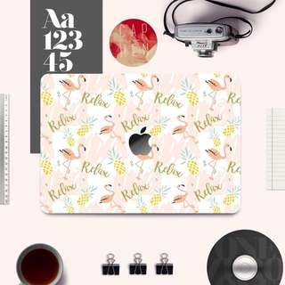 ❗️Caphen MacBook sticker‼️CuteCute 紅鶴款