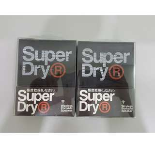 Superdry Bluetooth speakers x 2 ( Brand new )