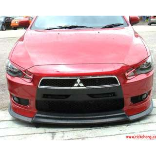 2007 TO 2011 MITSUBISHI LANCER EX FRONT BUMPER ADD ON SCORPION V-LIP KIT WITH INSTALLATION..PLEASE CONTACT SELLER TO PLACE ORDER !!