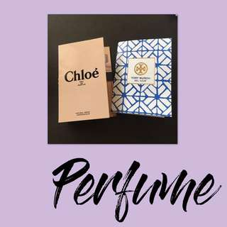 Perfume Mini Set of 2 Chloe, Tory Burch