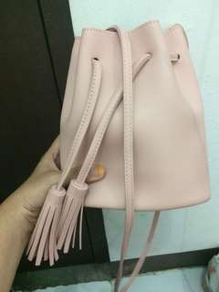 Tas Miniso Dusty Pink