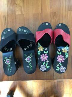 wooden clog heels