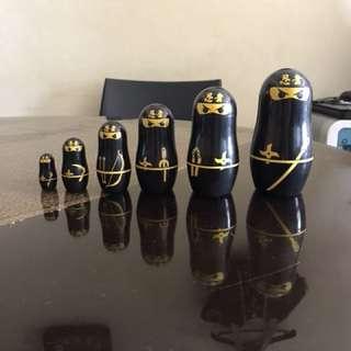 Matryoshka dolls (Ninja)