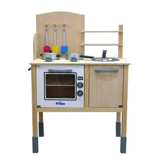 Friso Wooden Kitchen Set