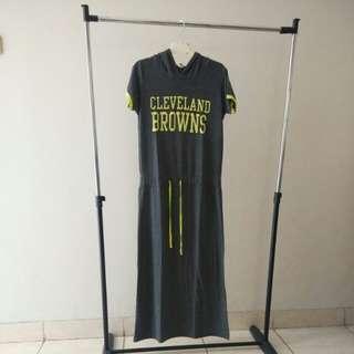 Long hoody sport dress