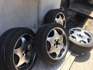"18"" sport rim with tyre"