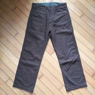 Runabout goods trial pants (work utility army)