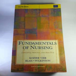 Fundamentals of Nursing 5th Edition