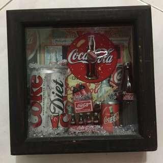 Pajangan Coca Cola Kristal Antik