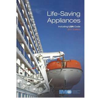 Life Saving Appliances including LSA Code 2017 Edition ( IMO Books IE982E)