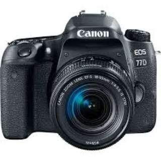 Canon EOS 77D DSLR 18-55mm Kredit tanpa kartu kredit proses mudah