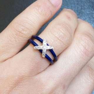 18K FABERGE ENAMEL ring