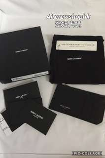 Saint laurent ysl cardholder 卡片套