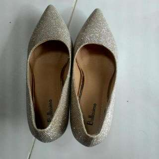 Glitter Bling High Heel Shoes