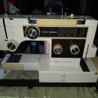 Janome 2 in 1 sewing machine