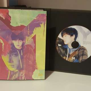 Monsta X Minhyuk The Code album set kpop