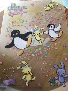 Pingu & Pinga A4 file (包平郵)